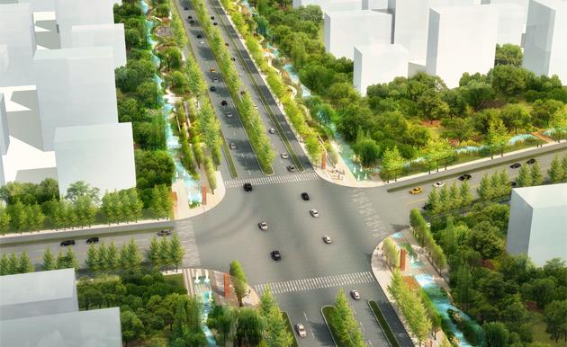 城市水系规划-九地国际景观规划设计研究院 - 景观