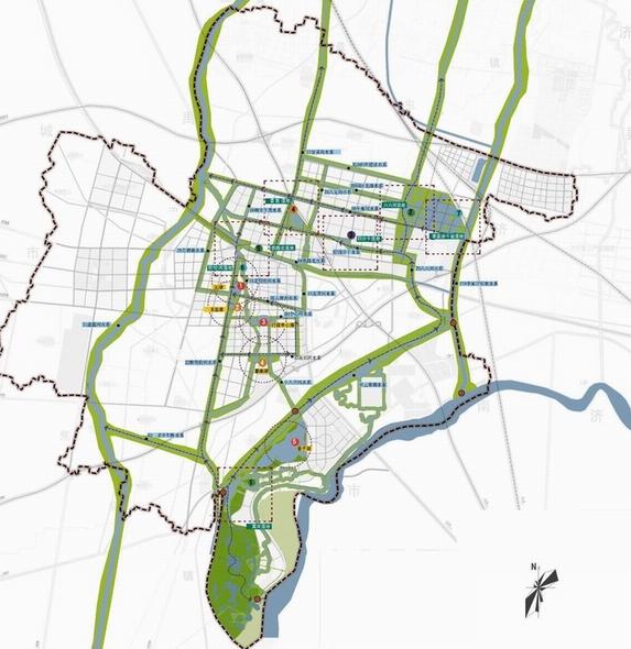 齐河城市水系及水体景观总体规划-城市水系规划-九地