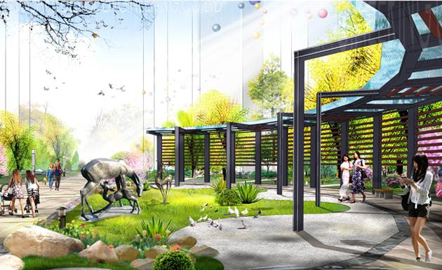 临沂东华花园住宅区景观设计