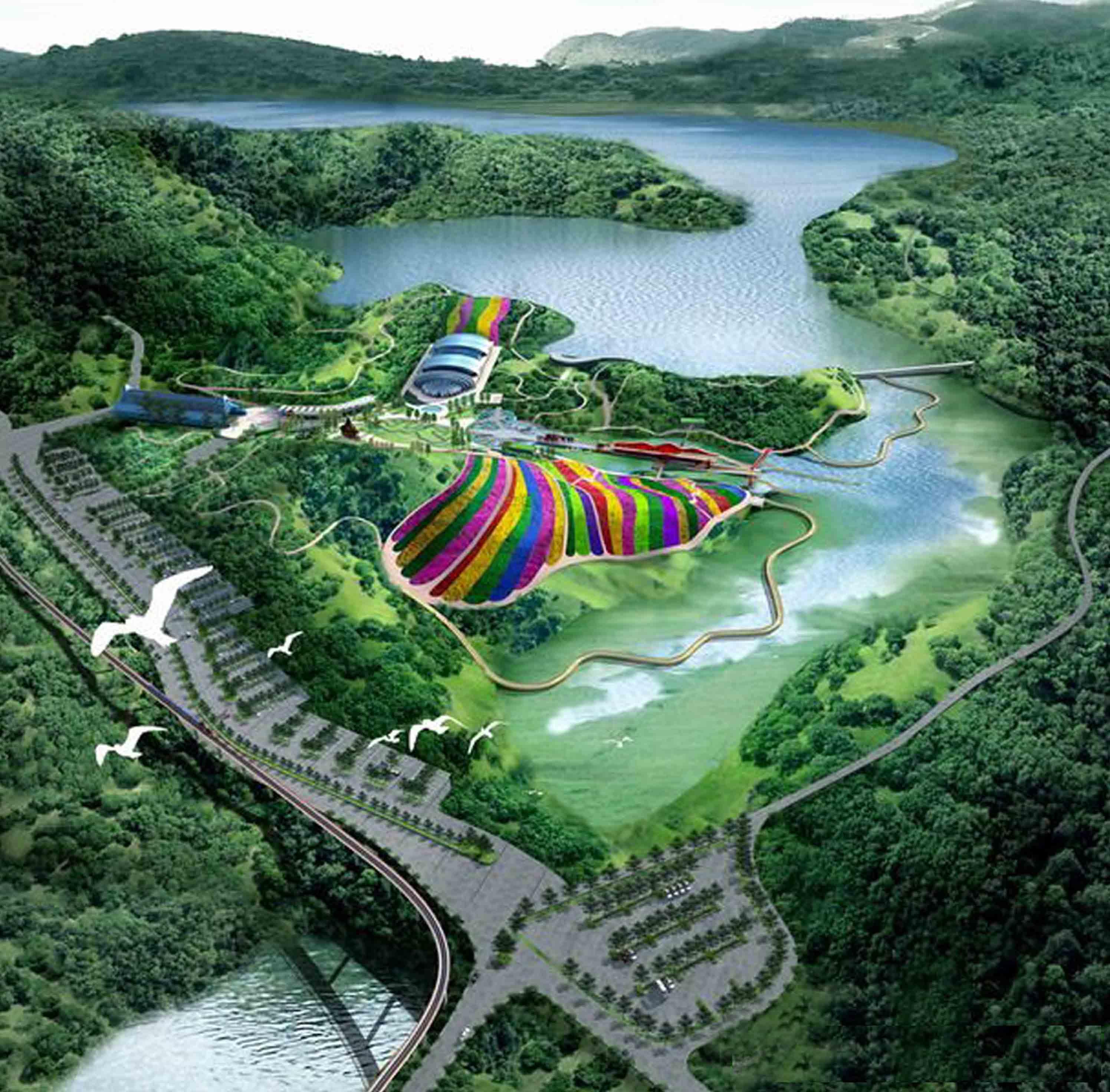 """""""四梦"""":梦岛,主题梦幻游乐园,含汤显祖戏曲展演,时代"""