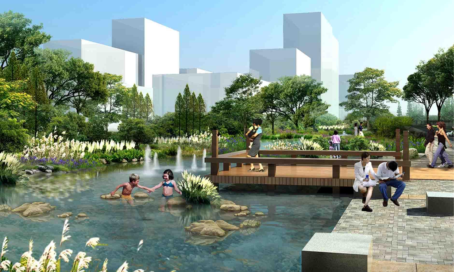广灵城市水系与水体景观总体规划
