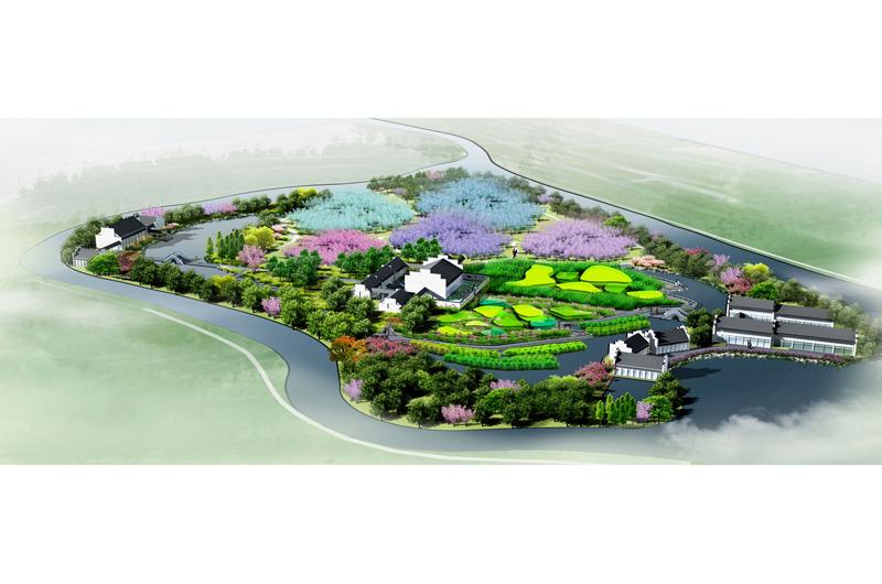 项目名称:黄山市桃花岛植物园景观规划设计