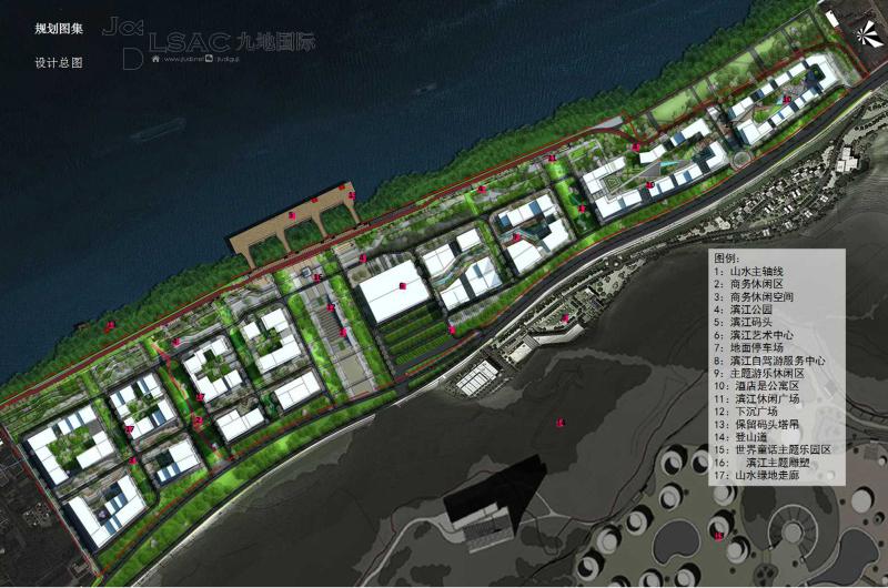 城市设计  设计单位:jdsl深圳九地国际景观与