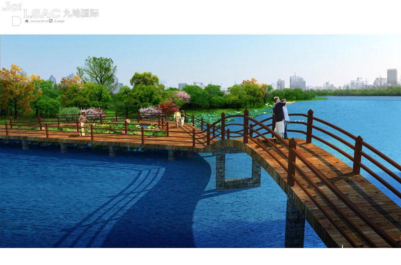 """齐河""""碧水绕城""""城市水系及滨水景观规划"""