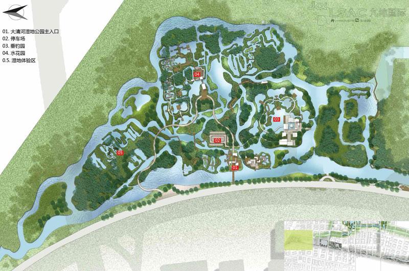 水系及滨水景观规划