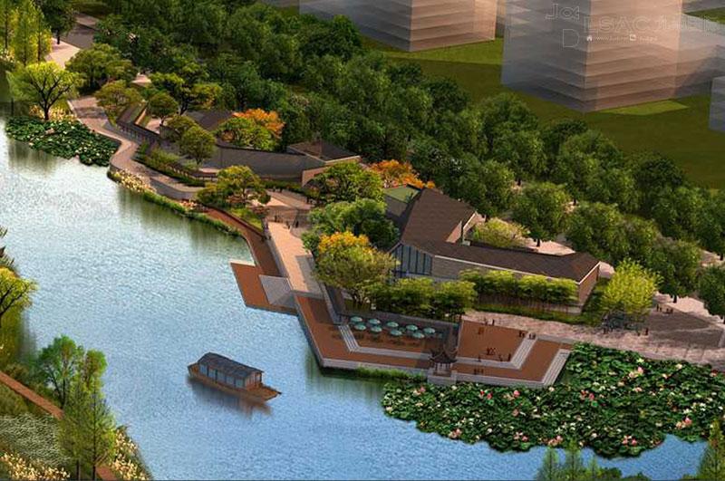 关于城市滨水景观设计的研究