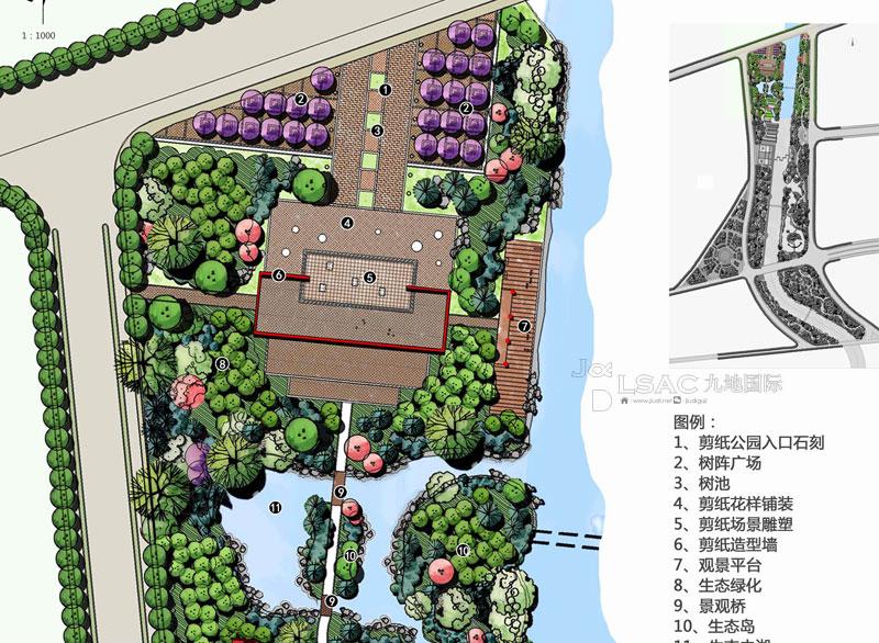 广灵木漕涧河综合治理及滨河公园景观规划设计-滨水-.