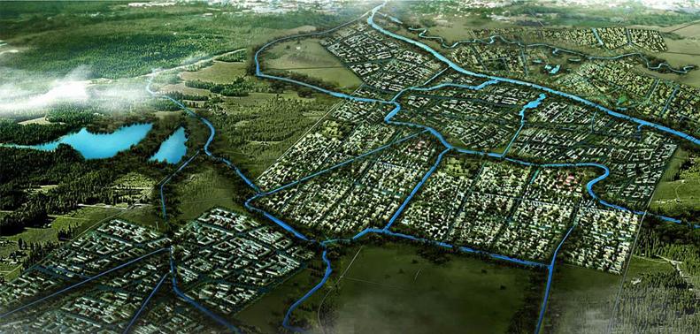 城市水系规划与滨水设计